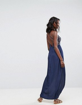 photo Galadriel Maxi Dress by The Jetset Diaries, color Marine - Image 2