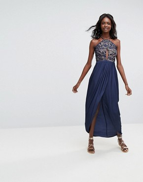 photo Galadriel Maxi Dress by The Jetset Diaries, color Marine - Image 1