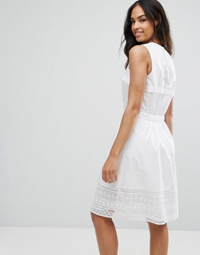 photo Aspen A-Line Dress by Tommy Hilfiger Denim, color White - Image 2