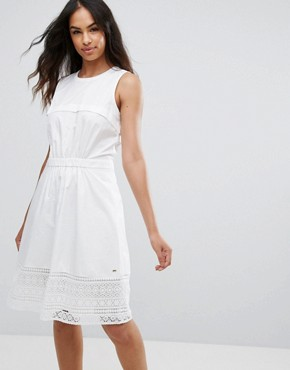 photo Aspen A-Line Dress by Tommy Hilfiger Denim, color White - Image 1