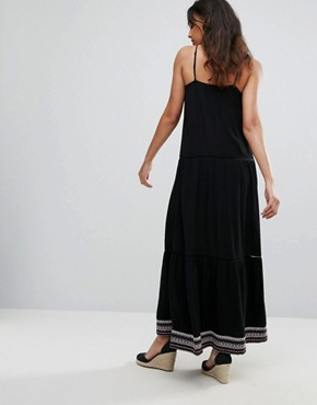 photo Strappy Maxi Dress by Tommy Hilfiger Denim, color Meteorite - Image 2