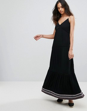 photo Strappy Maxi Dress by Tommy Hilfiger Denim, color Meteorite - Image 1