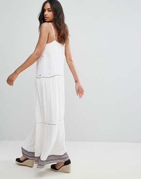 photo Strappy Maxi Dress by Tommy Hilfiger Denim, color Snow White - Image 2