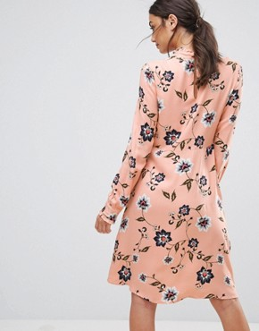 photo Floral Printed Dress by Vero Moda Tall, color Rose Cloud - Image 2