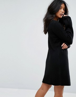 photo Knitted Jumper Dress by JDY, color Black - Image 2
