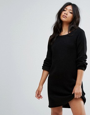 photo Knitted Jumper Dress by JDY, color Black - Image 1