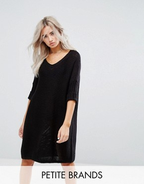 photo Knitted Dress by Noisy May Petite, color Black - Image 1