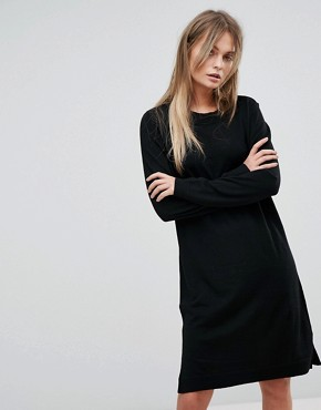 photo Knitted Dress by Selected, color Black - Image 1