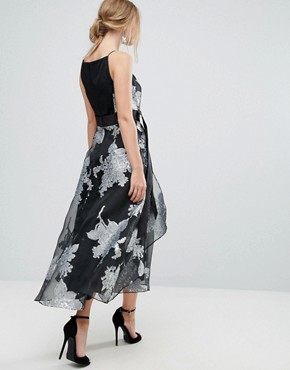 photo Floral Full Dress by Coast, color Multi - Image 2