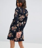 photo Wrap Front Skater Dress by Only, color Multi - Image 2