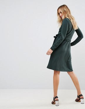 photo Double Layer Jersey Dress by Mamalicious Nursing, color Green - Image 2