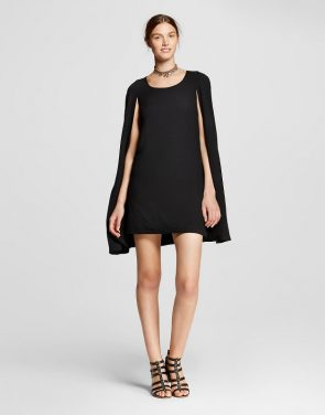 photo Cape Dress by Alison Andrews, color Black - Image 1