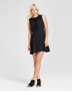 photo Lace and Crochet Dress by Eclair, color Black - Image 1