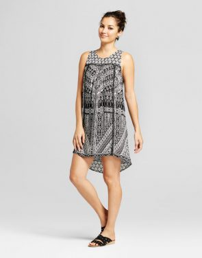 photo Printed Shift Dress by Knox Rose, color Multi - Image 1