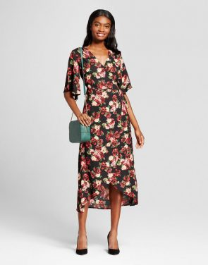 photo Floral Midi Dress by Eclair, color Multi - Image 1