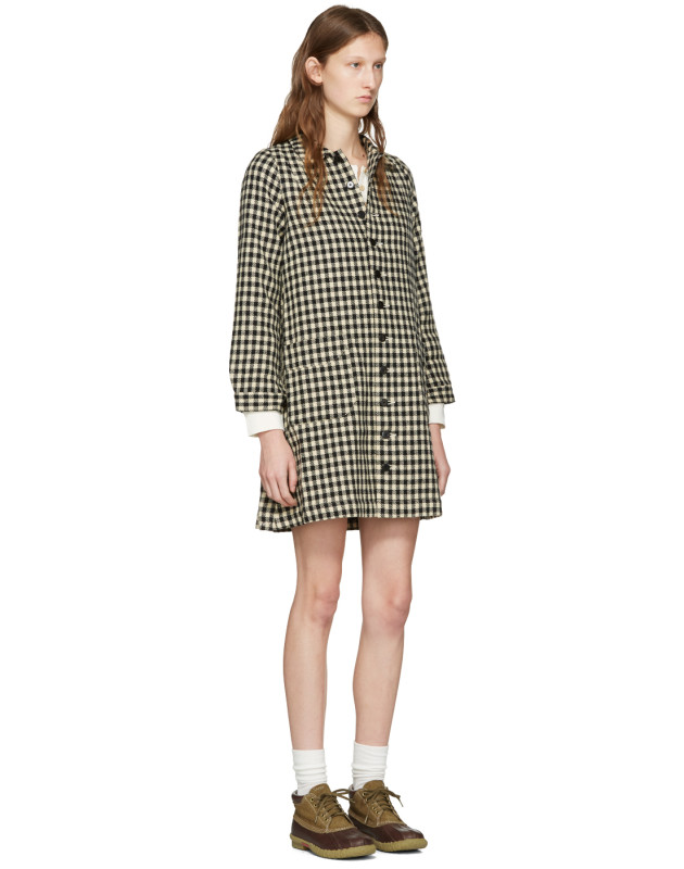 Black Check Impressionist Dress Visvim Mgk6GNaql