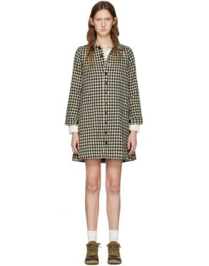 photo Black Check Impressionist Dress by Visvim - Image 1