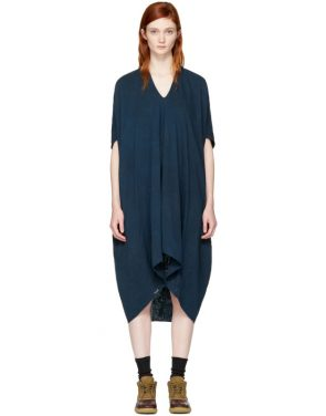 photo Indigo Ruana Dress by Visvim - Image 1