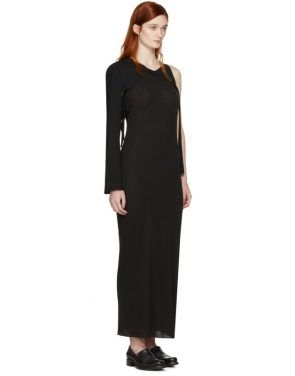 photo Black Cross Back Dress by Boris Bidjan Saberi - Image 4