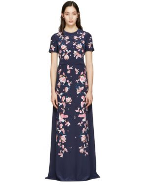 photo Navy Samira Dress by Erdem - Image 1