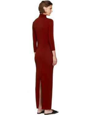 photo Red Underpinnings Turtleneck Dress by Kwaidan Editions - Image 3
