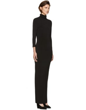 photo Black Underpinnings Turtleneck Dress by Kwaidan Editions - Image 2