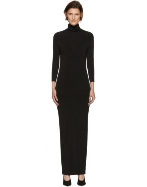 photo Black Underpinnings Turtleneck Dress by Kwaidan Editions - Image 1
