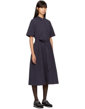 photo Navy Joan Dress by YMC - Image 2