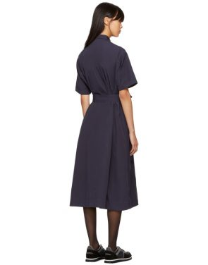 photo Navy Joan Dress by YMC - Image 3