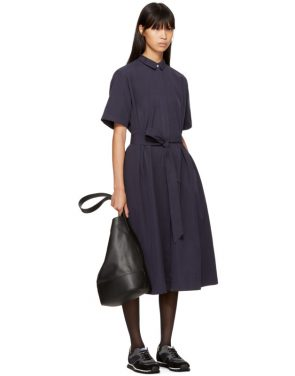 photo Navy Joan Dress by YMC - Image 4