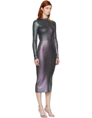 photo Multicolor Long Foil Dress by Christopher Kane - Image 2