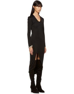 photo Black Beaded Dress by Alexander Wang - Image 2