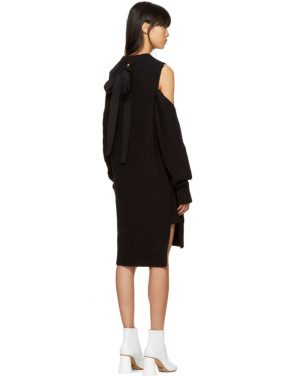 photo Black Gauge 5 Sweater Dress by MM6 Maison Martin Margiela - Image 3