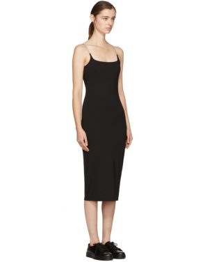 photo Black Chain Camisole Dress by T by Alexander Wang - Image 2