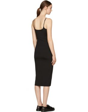 photo Black Chain Camisole Dress by T by Alexander Wang - Image 3