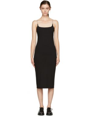 photo Black Chain Camisole Dress by T by Alexander Wang - Image 1