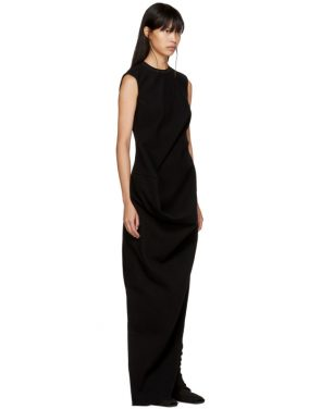 photo Black Ellipse Dress by Rick Owens - Image 2