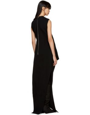photo Black Ellipse Dress by Rick Owens - Image 3