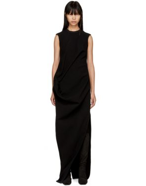 photo Black Ellipse Dress by Rick Owens - Image 1