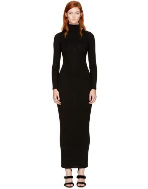 photo Black Knit Turtleneck Dress by Balmain - Image 1