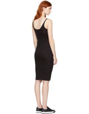 photo Black Jersey Tank Dress by Raquel Allegra - Image 3