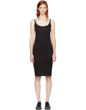 photo Black Jersey Tank Dress by Raquel Allegra - Image 1
