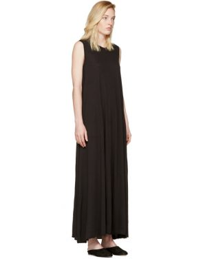 photo Black Drama Maxi Dress by Raquel Allegra - Image 2
