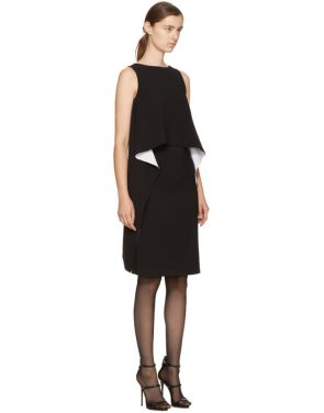 photo Black and White Draped Dress by Givenchy - Image 2