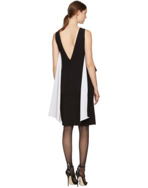 photo Black and White Draped Dress by Givenchy - Image 3