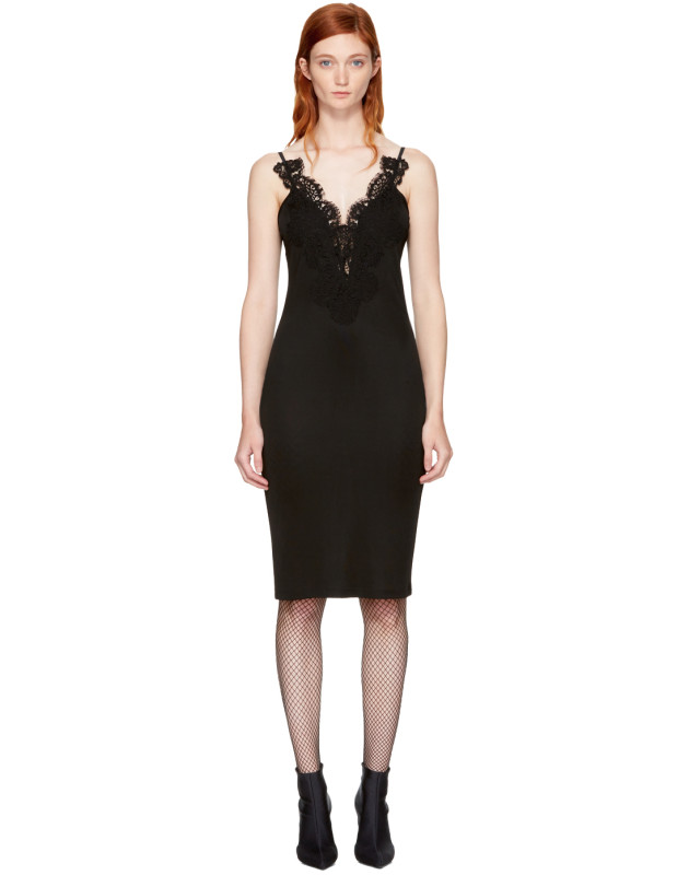 photo Black Lace Cami Dress by Givenchy - Image 1
