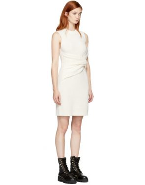 photo Off-White Draped Twist Dress by 3.1 Phillip Lim - Image 2