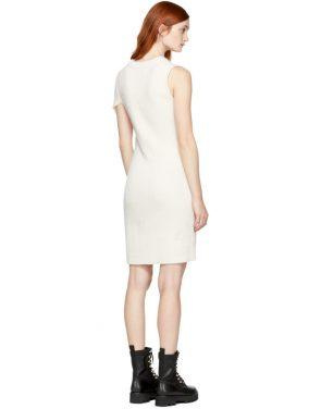 photo Off-White Draped Twist Dress by 3.1 Phillip Lim - Image 3