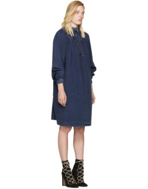 photo Indigo Denim Dress by Chloe - Image 2