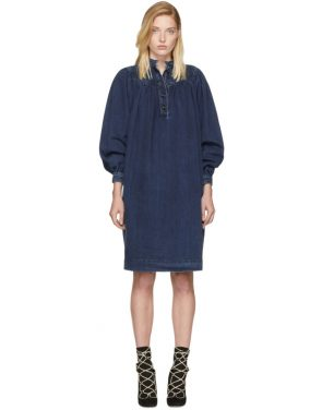 photo Indigo Denim Dress by Chloe - Image 1